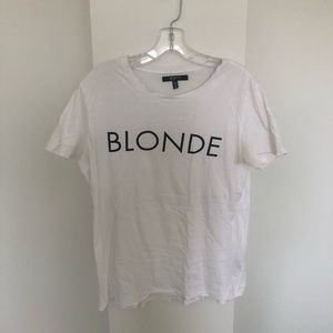 brunette the label t-shirt